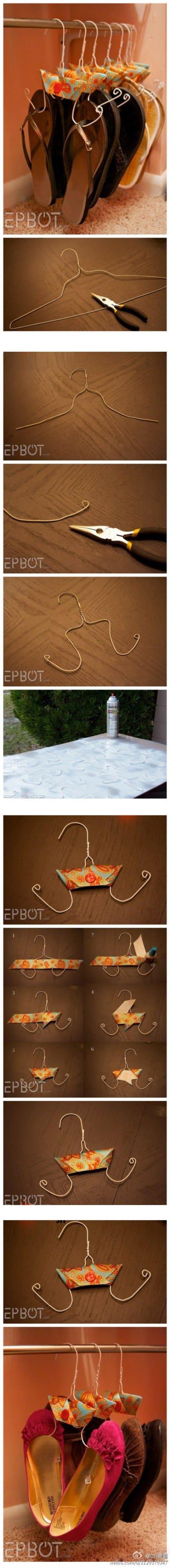 DIY: Shoe rack