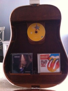 Creative Cd Guitar shelf