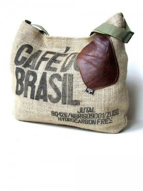 Recycled Coffee Sack Bag