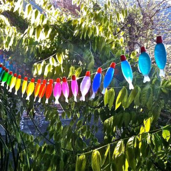 Fishly rainbow garland