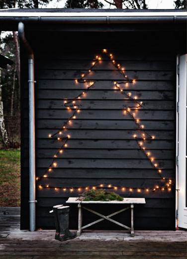 Christmas In The Garden Do-It-Yourself Ideas Garden Ideas