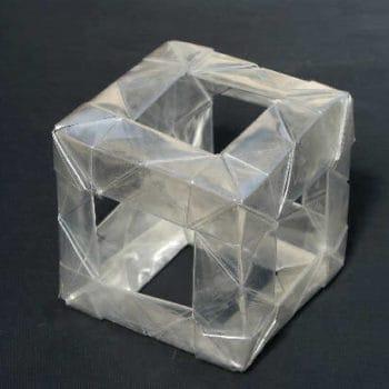 Plastic Bottle Origami