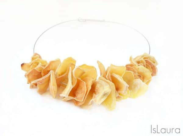 Necklace Chips Accessories Do-It-Yourself Ideas Upcycled Jewelry Ideas