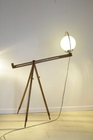 Trip'light lamp by Récupatine