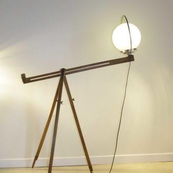 Trip'light lamp by Récupatine