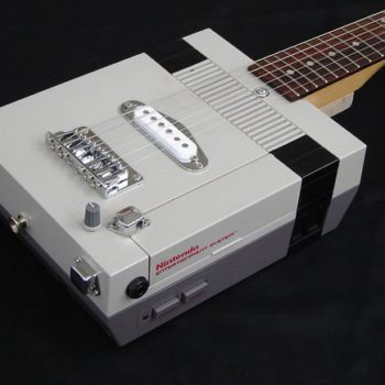 Nintendo NES electric guitar