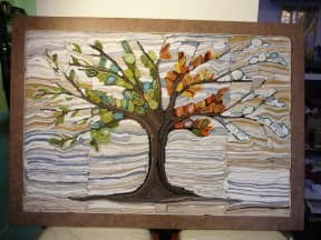Textile art