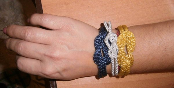 Knot Bracelets Accessories Do-It-Yourself Ideas Upcycled Jewelry Ideas