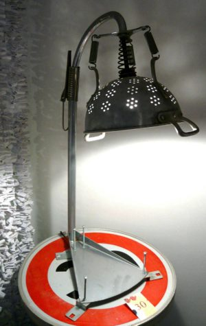 Up-cycled lamps