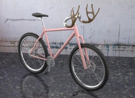 Antlers bike