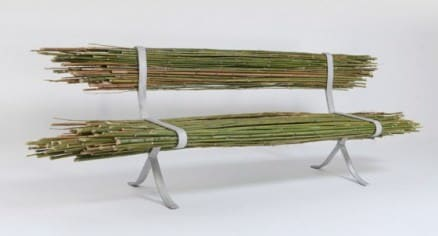 bamboo bench design1 560x303 Contemporary green design with purpose built furniture in a contemporary home in furniture architecture  with Wood / organic home Green Furniture DIY design Bamboo 