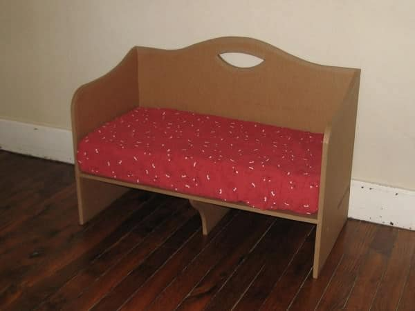 Cardboard Co-Sleeping Bed Do-It-Yourself Ideas Recycled Cardboard
