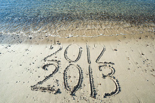 end of 2013 start of 2013 shutterstock Happy 2013 in social  with