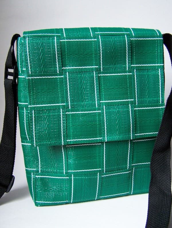 Accessories made from lawn chair webbing in accessories  with Recycled Furniture