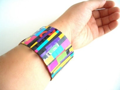 Recycled Eco Jewelry – Water Bottle Bangle