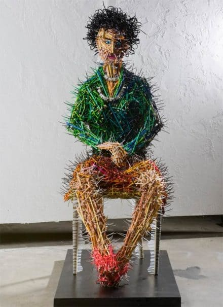 Pencils sculptures