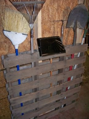 DIY: Storing your garden tools