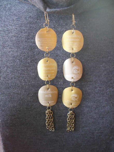 Goldie's Glamorous Goldtone Earrings