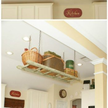 Ladder Up: Storage for Your Kitchen