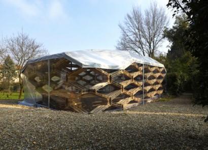 Wooden Pallets Pavilion