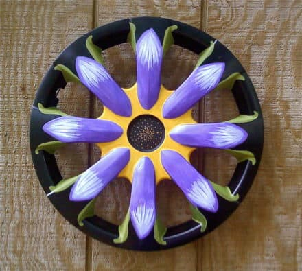 Recycled Hubcaps