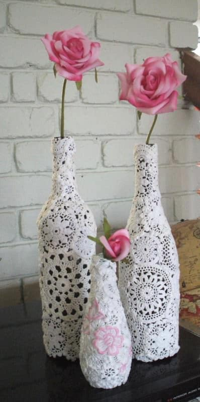 Will You Be My Valentine? Vases Accessories Do-It-Yourself Ideas Recycled Glass