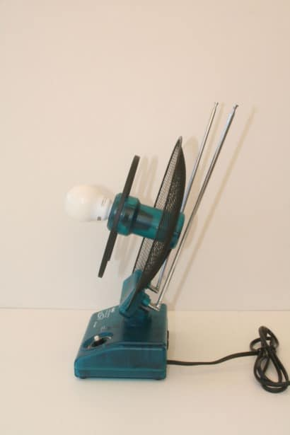 Television antenna lamp