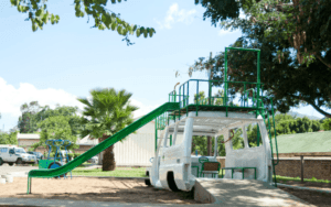 Ambulance playground in Malawi