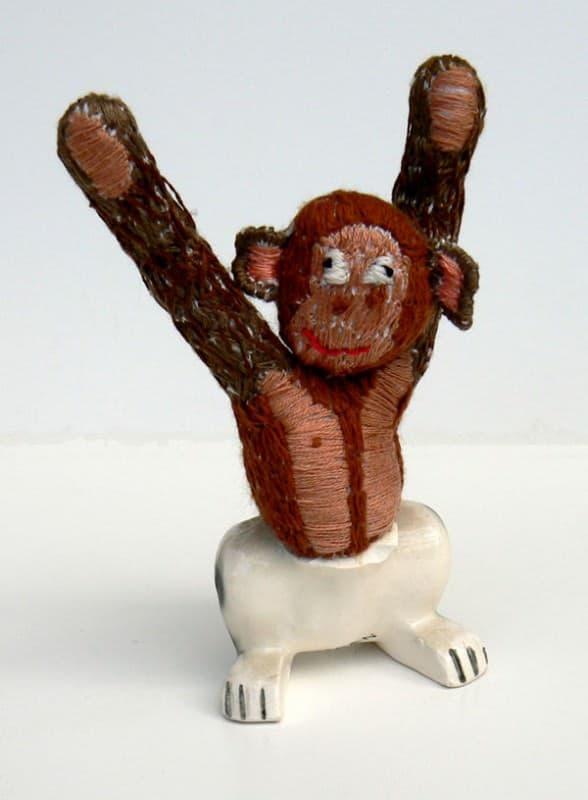 Animal hybridsna Recycled Art