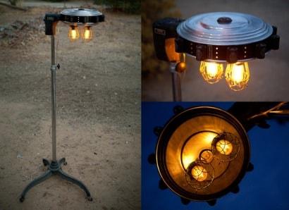 1930s Bonat Hair Dryer Curler Lamp