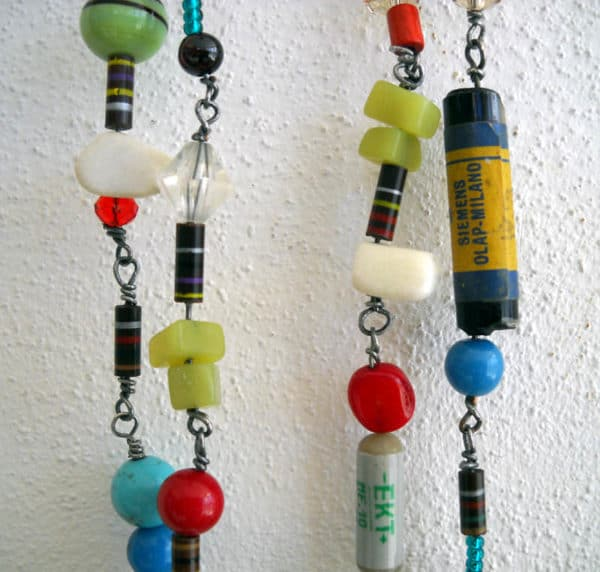 Resistors Necklace Accessories Recycled Electronic Waste Upcycled Jewelry Ideas