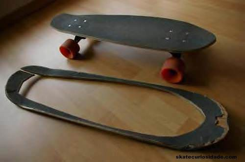 Reused Skateboard Deck Do-It-Yourself Ideas Recycled Sports Equipment