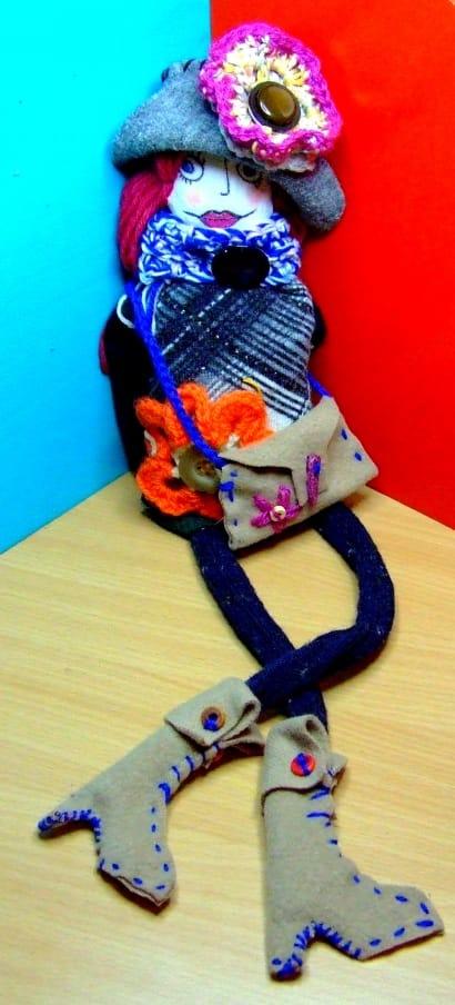 Viola rag doll