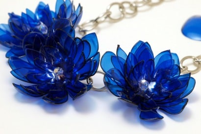 Upcycled Eco jewelry and accessories