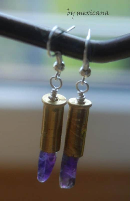 Bullet Jewelry Accessories Upcycled Jewelry Ideas
