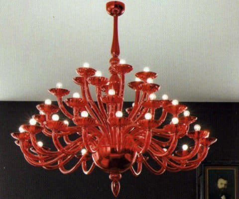 Murano Glass Chandeliers Lamps & Lights Recycled Glass
