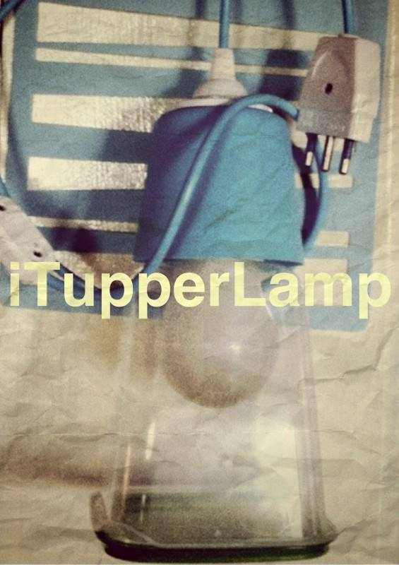 iTupperLamp Lamps & Lights Recycled Plastic