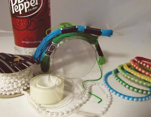 Plastic Bottle Bracelet Accessories Do-It-Yourself Ideas Upcycled Jewelry Ideas