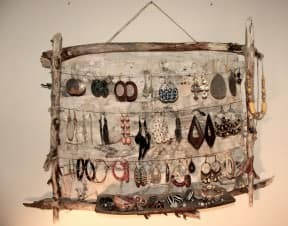 Rustic Jewellery holder