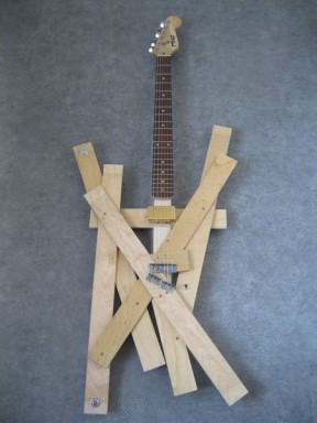 Bed Slats Guitar