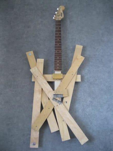 Bed Slats Guitar