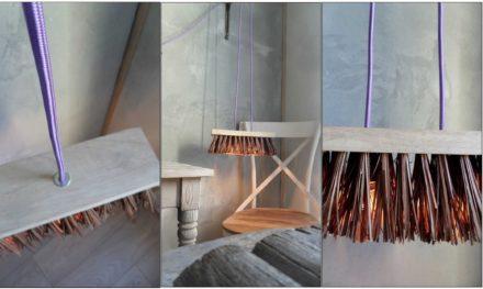Längd pendant Lamp broom