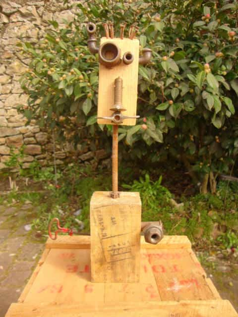 Recycled Pallets Robots Recycled Art Recycled Pallets