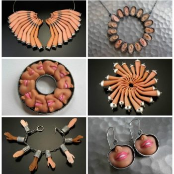 Upcycled Barbie Doll Parts Jewelry