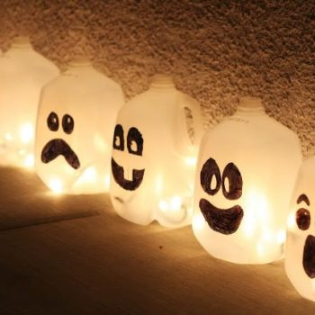DIY: Spirit Jugs For Halloween