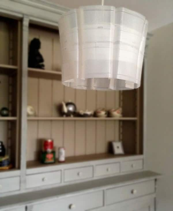 upcycleDZINE MilkFlowerLamp 01 600x731 Upcycled plastic milk carton: Milkflower lampshade in packagings lights with Plastic Milk Lampshade Lamp carton