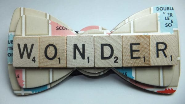 Upcycled Bow Ties of Wonder Accessories