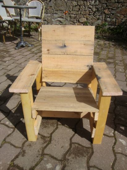 Garden armchair for children