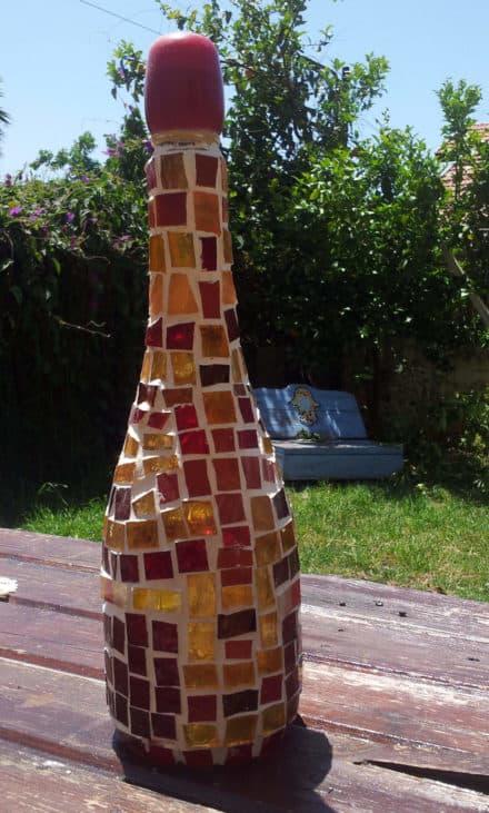 Bottles Recycling Art