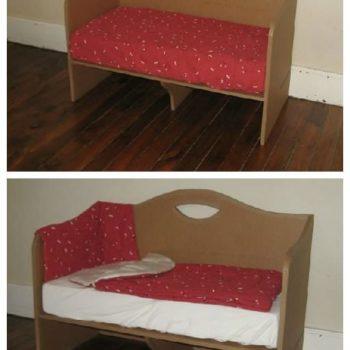 Cardboard Co-Sleeping Bed